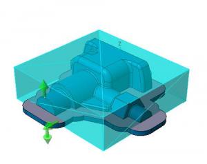 VISI Machining: Automatische Rohteildefinition