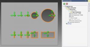 VISI Mould/Progress: PEW Einfädelpunkte über Platten