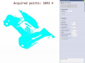 VISI Reverse: Punktescan